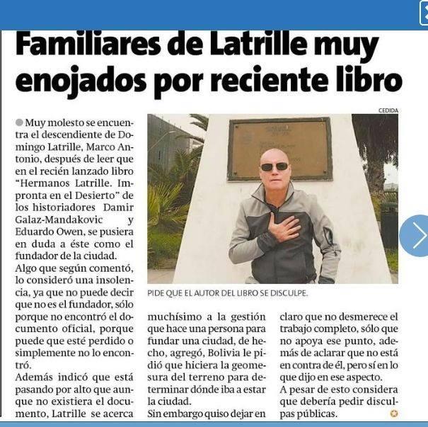 Photo of Historiador denuncia a excandidato a concejal y core por Iquique de mentir al presentar libro de su autoría como propio
