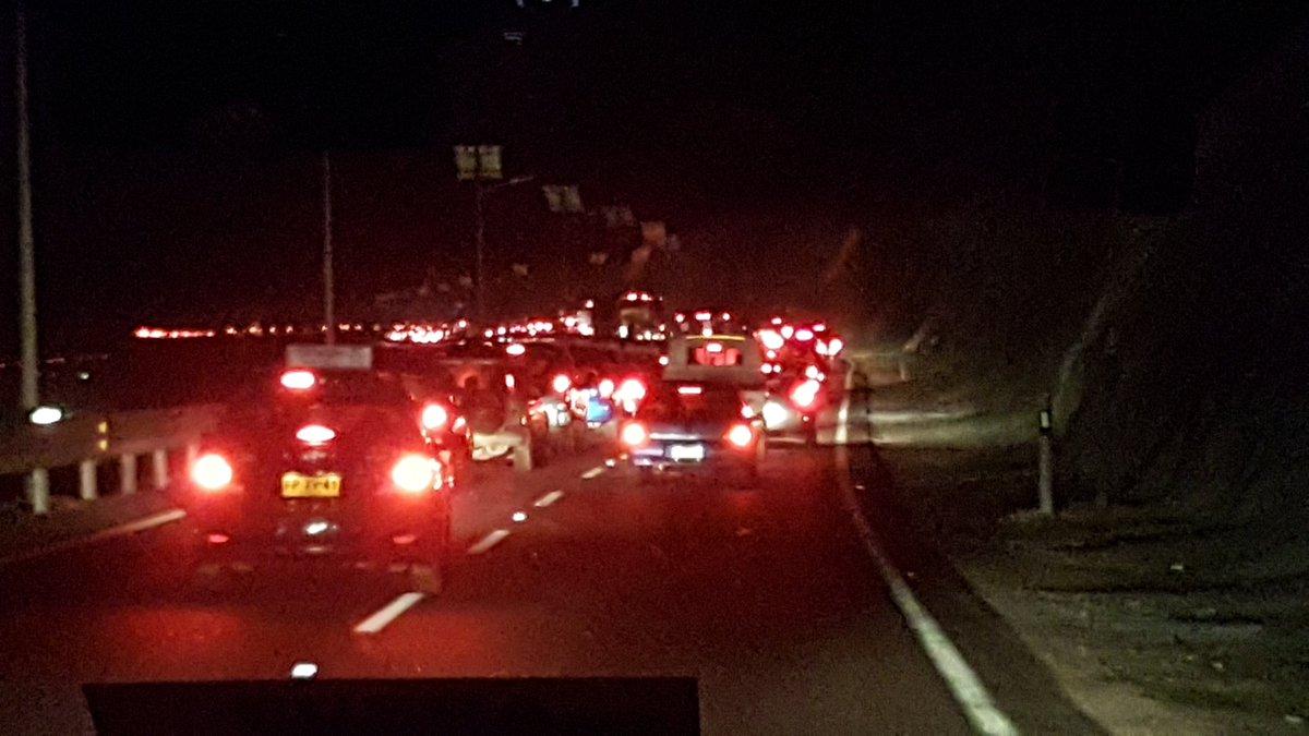 Photo of Indignación entre los conductores por enorme taco de bajada Alto Hospicio-Iquique