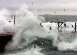 Photo of Olas de hasta 4 metros se esperan en el borde costero esta semana