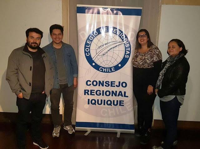 Photo of Asume nueva directiva de Colegio de Periodistas de Iquique