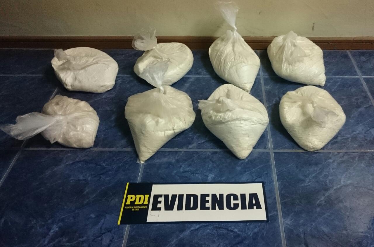 Photo of Pdi detiene a dos personas e incauta 15 kilos de droga en Alto Hospicio