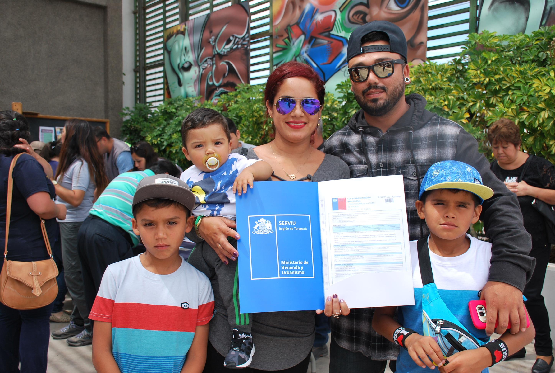 Photo of 136 familias recibieron sus subsidios de vivienda para el proyecto La Reserva en Alto Hospicio