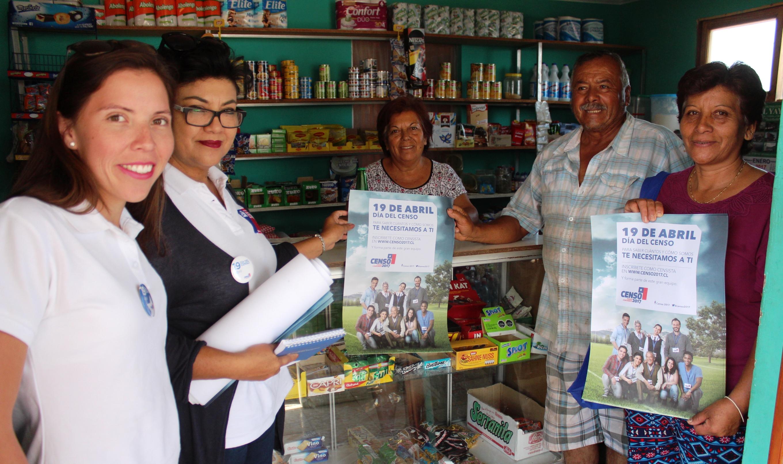 Photo of Dirigentas de caletas del sur del Iquique se suman al Censo 2017