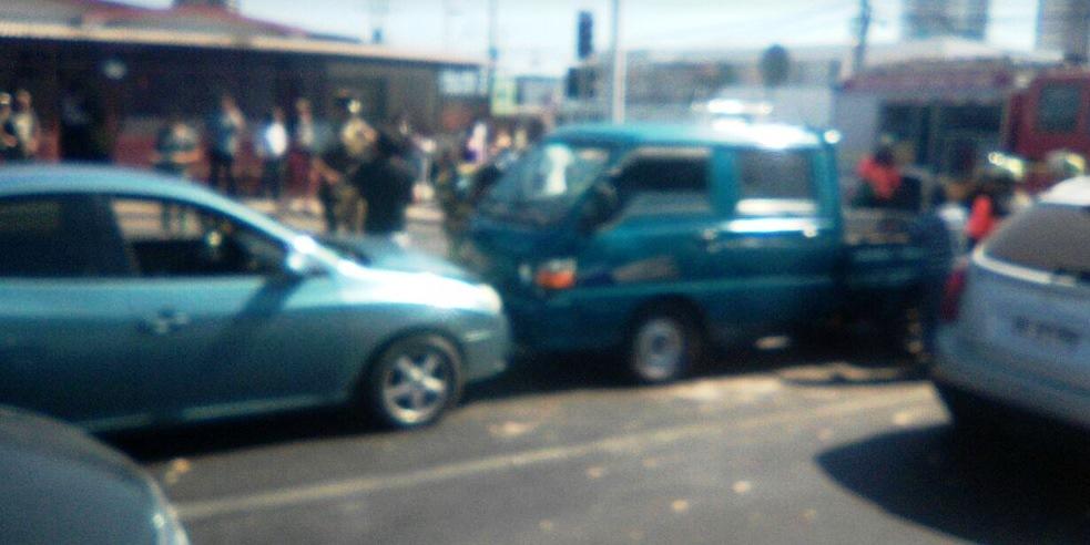 Photo of Triple colisión deja 5 lesionados en sector sur de Iquique