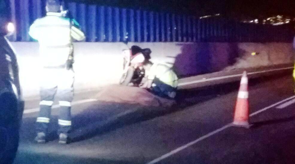 Photo of Terrible: Motociclista cayó de su moto y murió atropellado