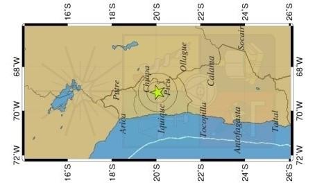 Photo of Tres sismos se han registrado cerca de Pica durante esta jornada