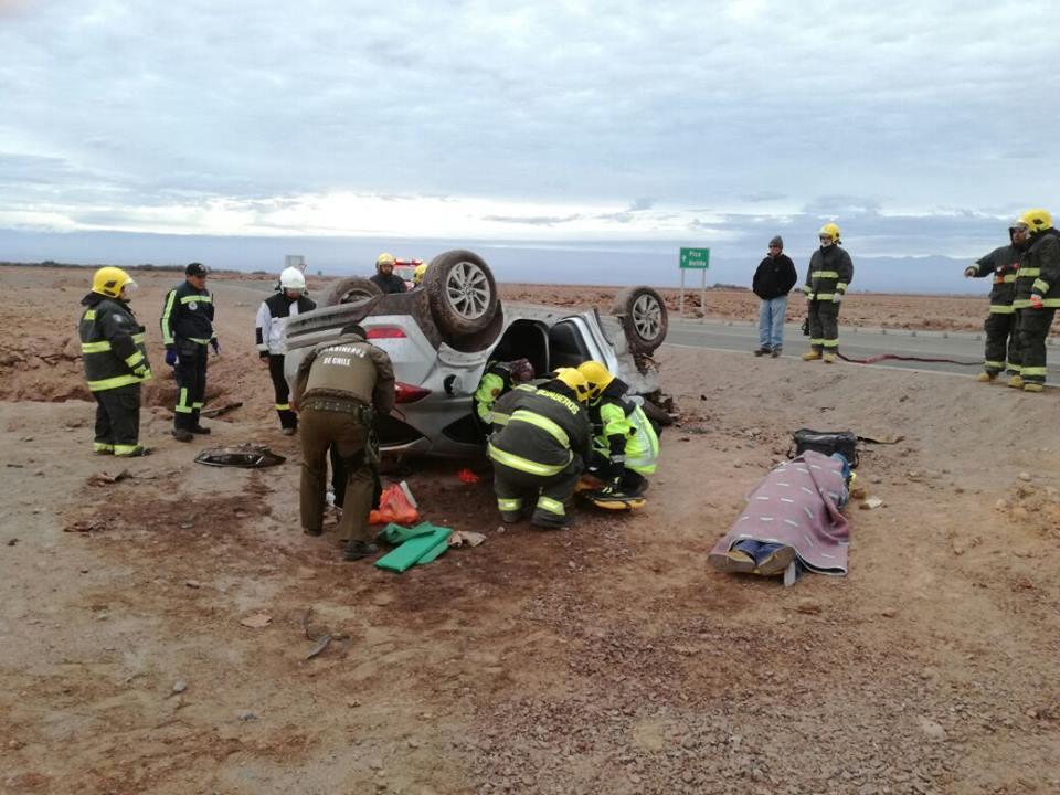 Photo of VIDEO: Tres heridos graves. Vehículo voló más de 100 metros