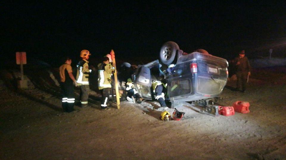 Photo of VIDEO: Un herido en accidente de tránsito en fuerte Baquedano
