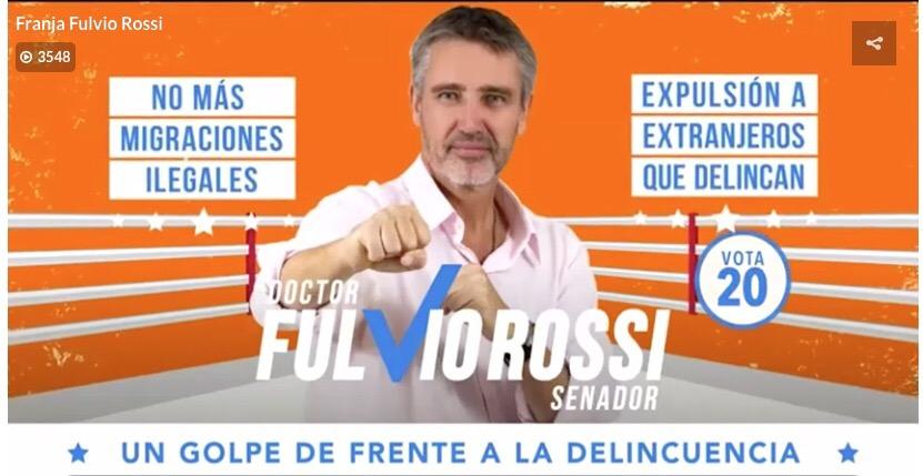 """Photo of Rossi: """"Denuncié sicariato y crimen organizado, pero me criticaron"""""""