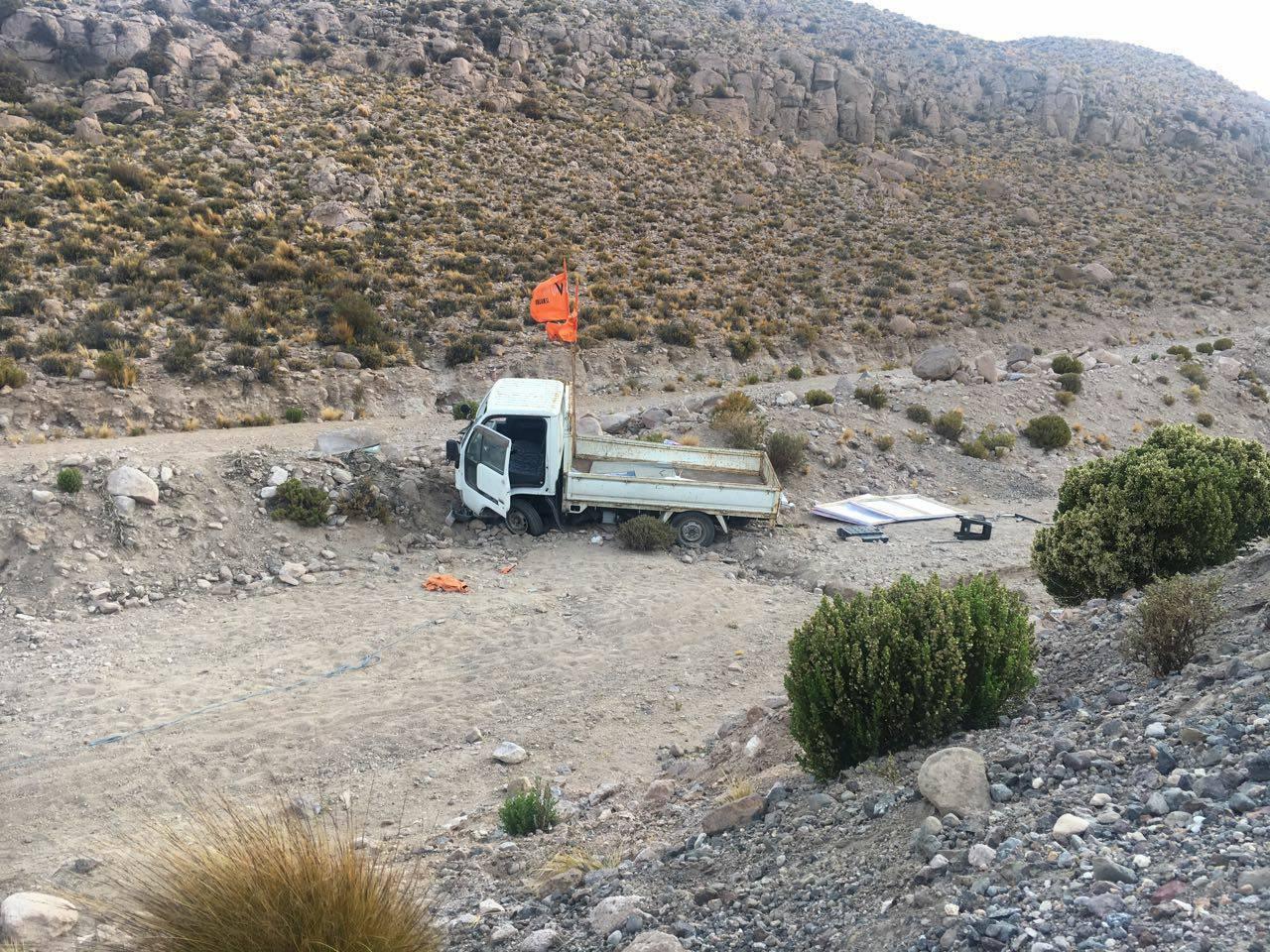 Photo of Dos heridos: Vehículo de comando de senador Rossi volcó en las cercanías de Colchane