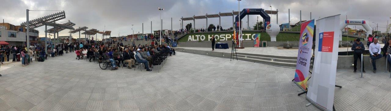 Photo of Reinauguran tradicional Plaza Belén de Alto Hospicio