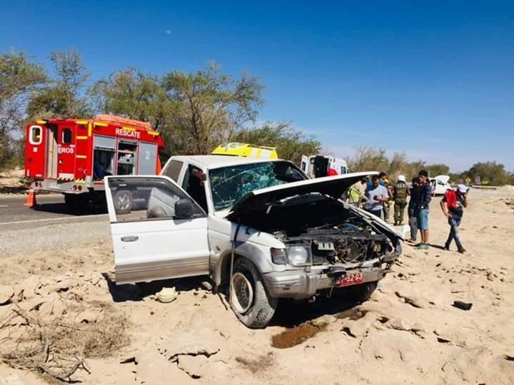 Photo of Una persona fallecida en accidente sector La Huayca