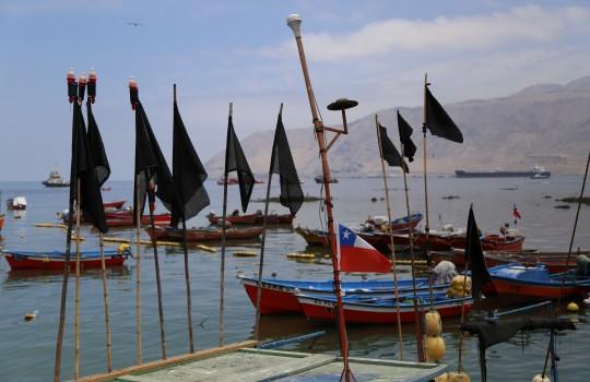 Photo of Enfrentamientos con Fuerzas Especiales de Carabineros marcan jornada de manifestaciones de buzos y pescadores