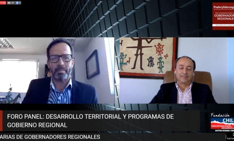 """Photo of 1er Conversatorio Web: """"Propuestas y Desafíos de los Gobernadores Regionales – Tarapacá"""""""